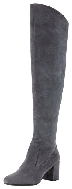 Item - Pewter (Color Name Is Pewter But They Are Gray) Blythe Over The Knee Boots/Booties Size US 8 Regular (M, B)