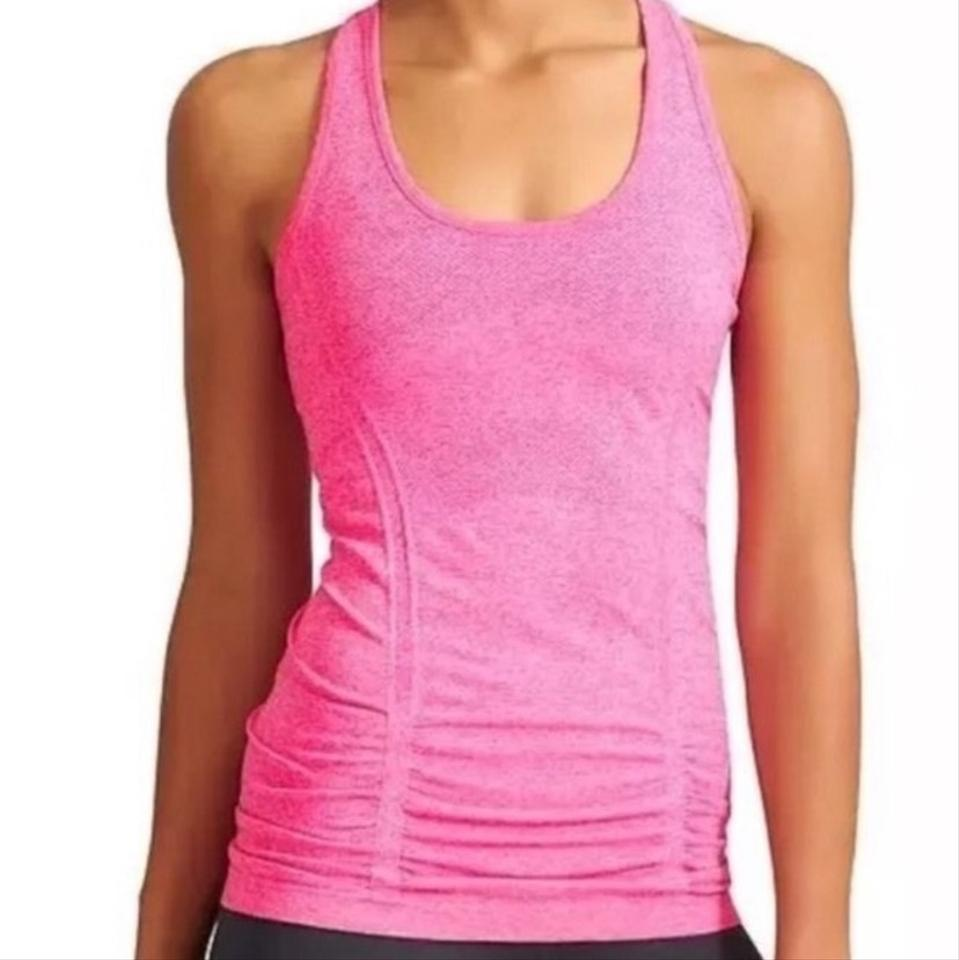 a3c66651d2f11 Athleta Hot Pink Fastest Track Tank Activewear Top Size 2 (XS) - Tradesy