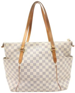Louis Vuitton Damier Azur Totally Totes - Up to 70% off at Tradesy 0238ed86d1