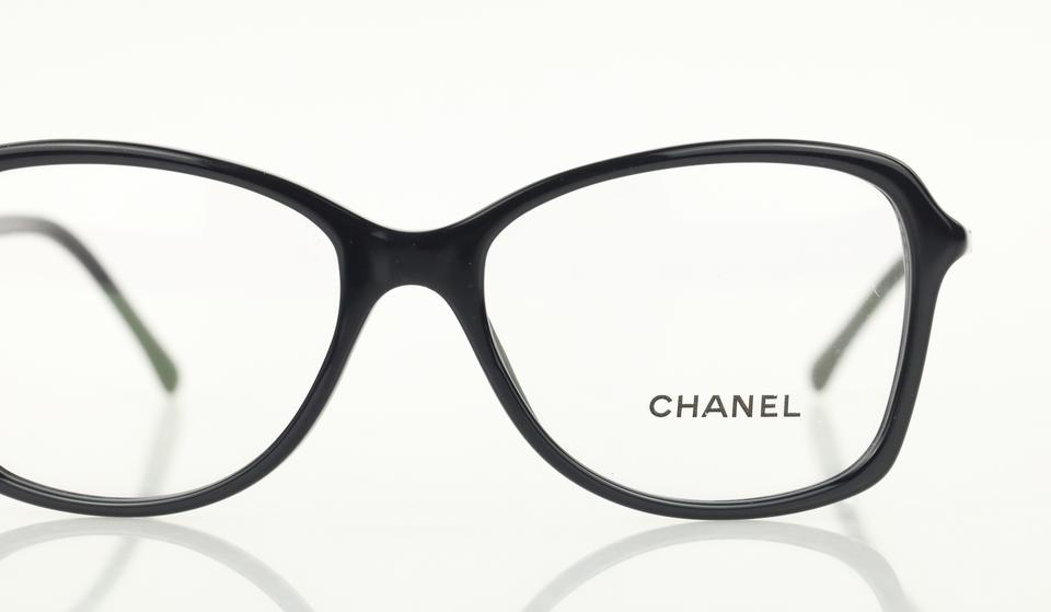 Chanel Blue Navy Butterfly Square Eyeglasses - Tradesy 163e3ce3701
