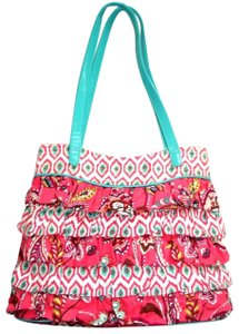 6a5797aa8cdc Vera Bradley Shoulder Ruffled Canvas Hobo Bag