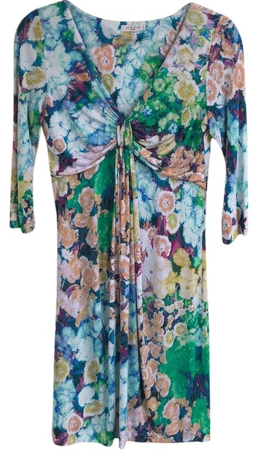 Item - Multicolor Mid-length Night Out Dress Size 8 (M)