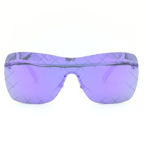 Chanel Square Violet Silver Shield Quilting Sunglasses 4215 c.124 4v 90ab0d2bd8