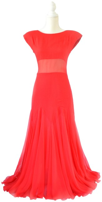 Preload https://img-static.tradesy.com/item/24742169/scaasi-red-vintage-boutique-chiffon-evening-gown-long-formal-dress-size-4-s-0-1-650-650.jpg