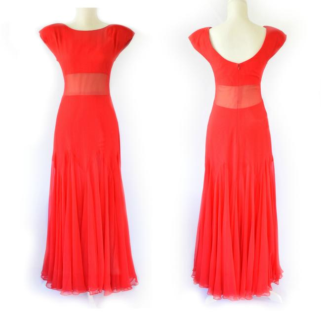 Scaasi Ball Gown Glamour Vintage Prom Dress Image 5