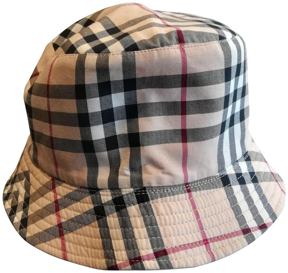 Burberry Classic Plaid Reversible Vintage Check Cotton Bucket Hat ... 601a912b344