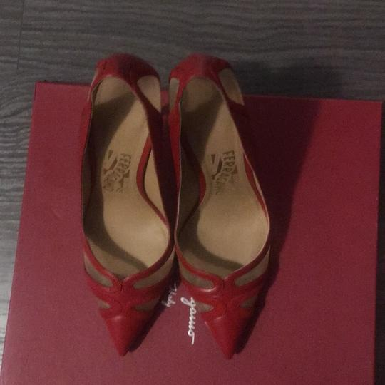 Salvatore Ferragamo Red Pumps Image 2