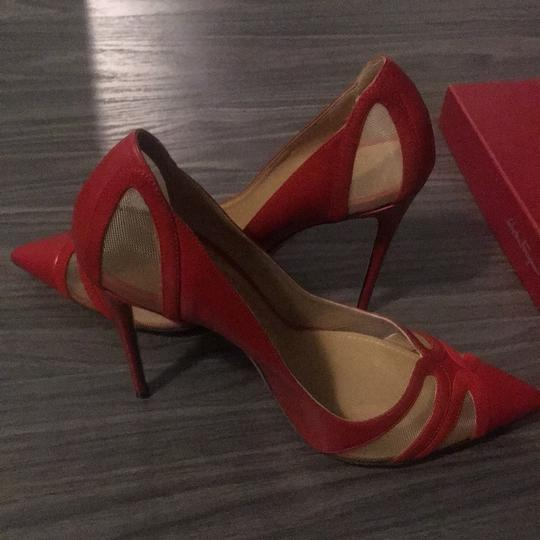 Salvatore Ferragamo Red Pumps Image 8
