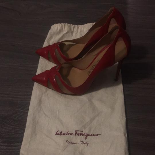 Salvatore Ferragamo Red Pumps Image 9