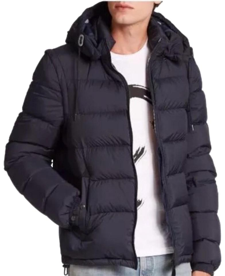 f490ce0c1 Burberry Brit Navy XL Men's Basford Quilted Padded Jacket Removable Sleeve  Coat Size 18 (XL, Plus 0x) 35% off retail