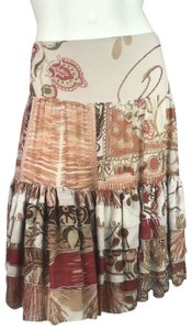 Blumarine Skirt Brown
