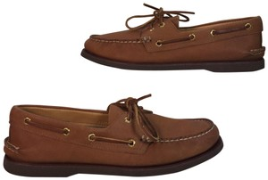 Sperry Pink brown Flats