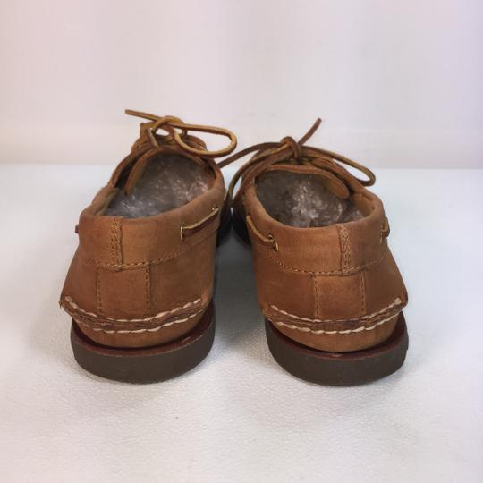Sperry Pink brown Flats Image 4