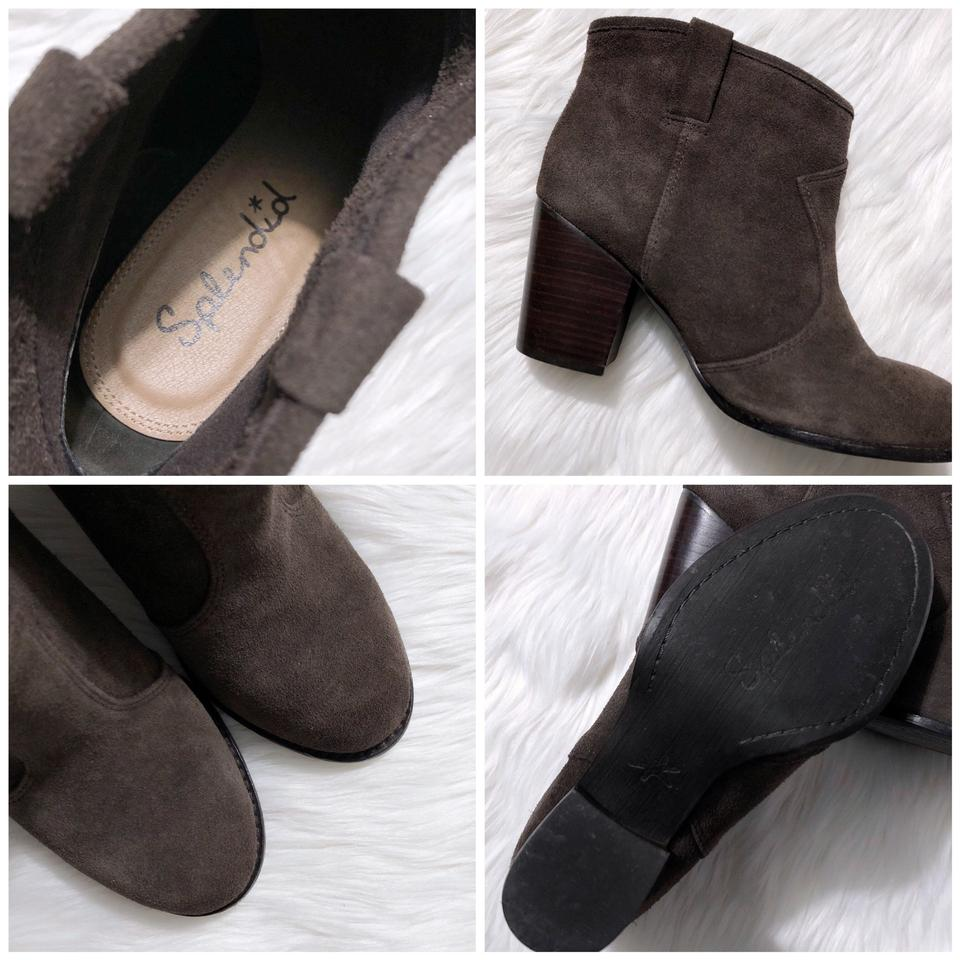 56b207f089f Splendid Mink Brown Lakota Suede Pull On Ankle Boots/Booties Size US 7.5  Regular (M, B) 53% off retail