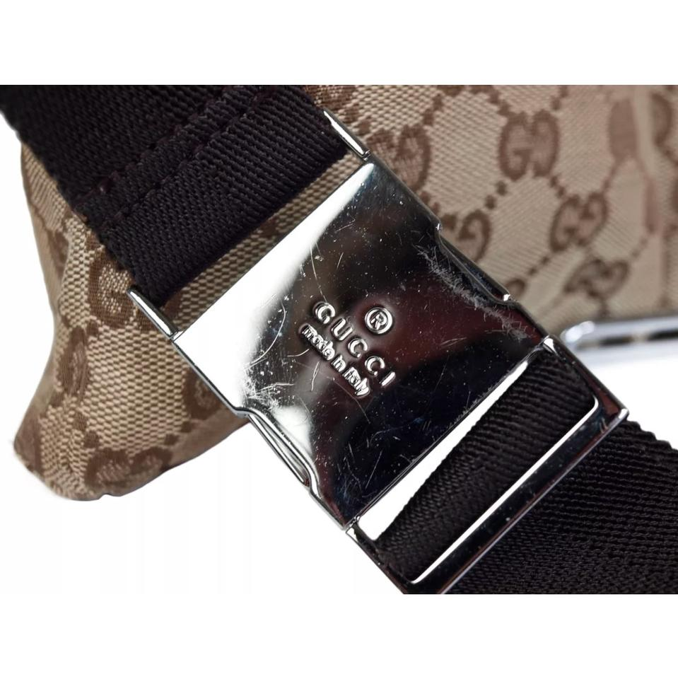 d2d93b40c Gucci Belt Waist Belt Please See Pics For Wear. In Good Shape. Super Trendy  and Stylishgucc♥ Brown Tan Canvas/Leather Cross Body Bag - Tradesy