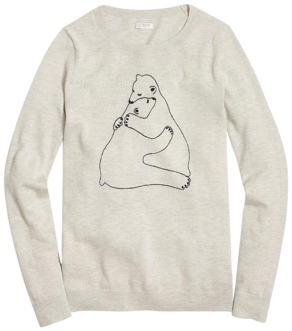 Preload https://img-static.tradesy.com/item/24742399/jcrew-embroidered-bear-hug-teddie-size-small-cream-sweater-0-1-650-650.jpg