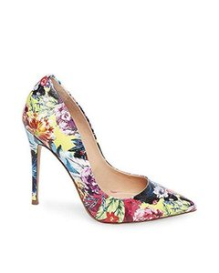 22eb87a3e49 Steve Madden Colored Pointed Toe Stiletto Floral Multi Pumps. Steve Madden  Floral Multi Daisie Pointed Toe Pumps Size US 7 Regular (M ...
