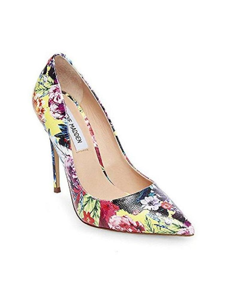 135f278cc19 Steve Madden Floral Multi Daisie Pointed Toe Pumps Size US 7 Regular ...