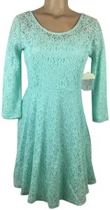 Altar'd State short dress Aqua Blue on Tradesy