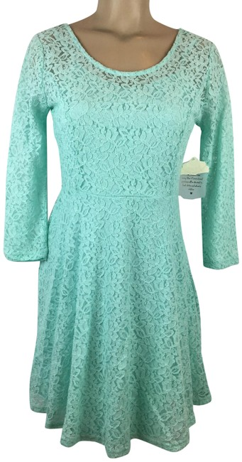 Preload https://img-static.tradesy.com/item/24742519/altar-d-state-aqua-blue-full-lace-short-casual-dress-size-6-s-0-1-650-650.jpg