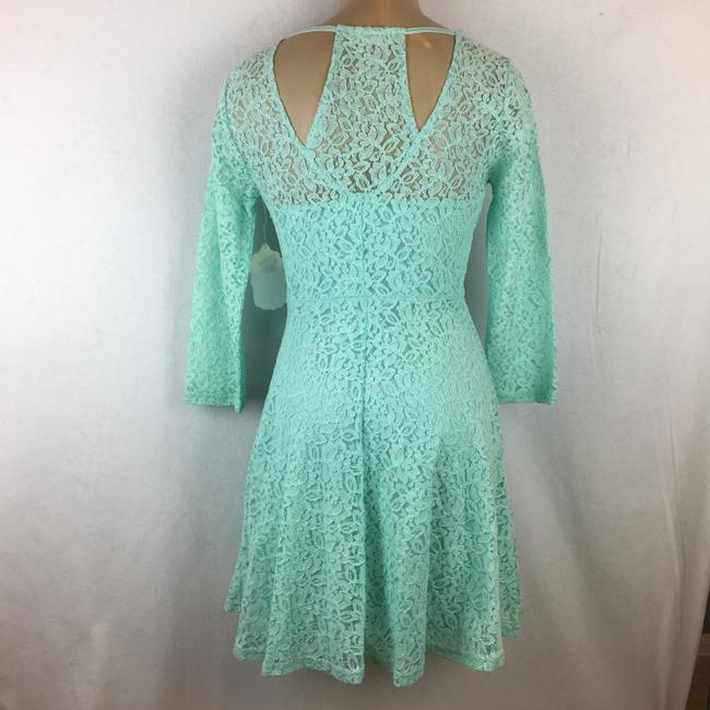 Altar'd State short dress Aqua Blue on Tradesy Image 1