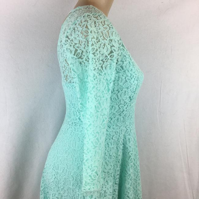 Altar'd State short dress Aqua Blue on Tradesy Image 2