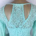 Altar'd State short dress Aqua Blue on Tradesy Image 4