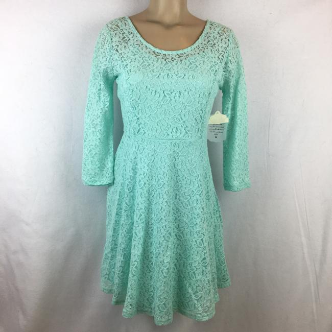 Altar'd State short dress Aqua Blue on Tradesy Image 5