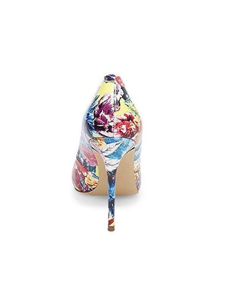069773960a231 Steve Madden Pointed Toe Stiletto Colored Floral Multi Pumps Image 11.  123456789101112