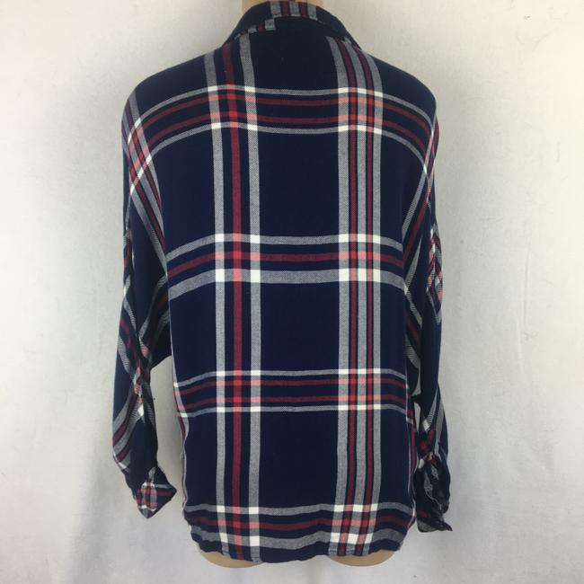 Rails Button Down Shirt Blue Image 1