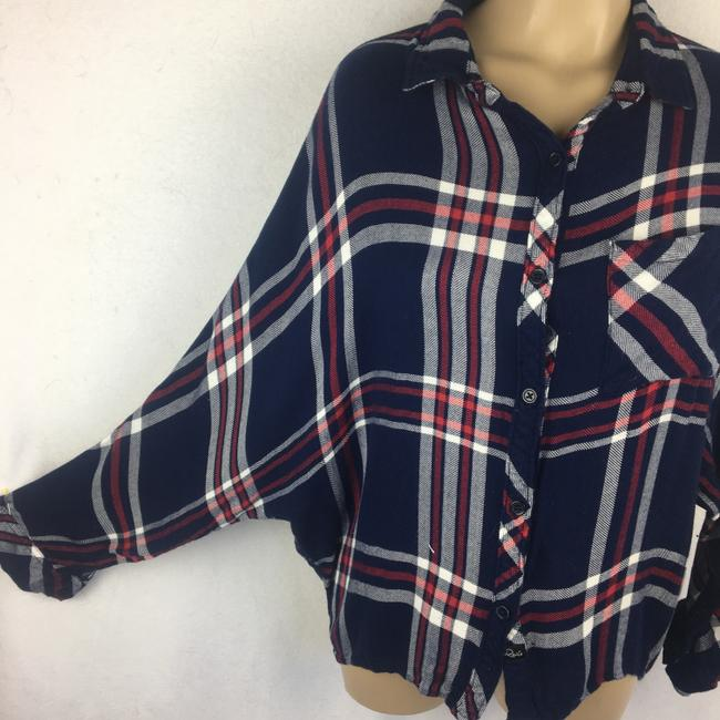 Rails Button Down Shirt Blue Image 2