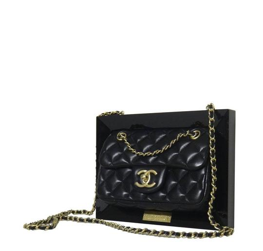 Chanel Gold Hardware Runway Clutch Limited Edition Cross Body Bag Image 1
