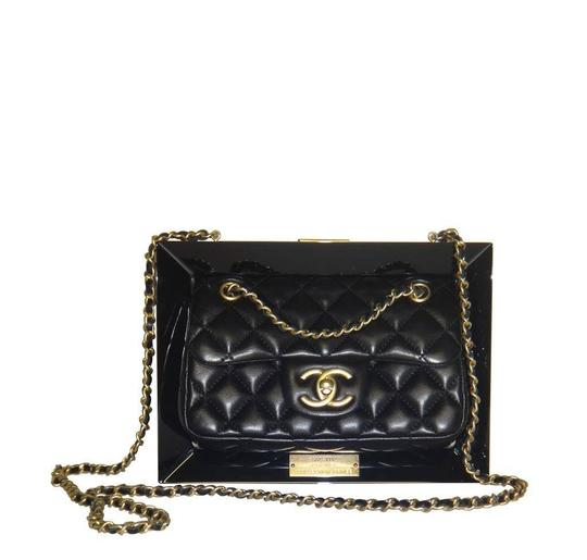 Chanel Gold Hardware Runway Clutch Limited Edition Cross Body Bag Image 2