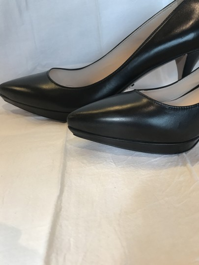 Prada Black Leather Pumps Image 2