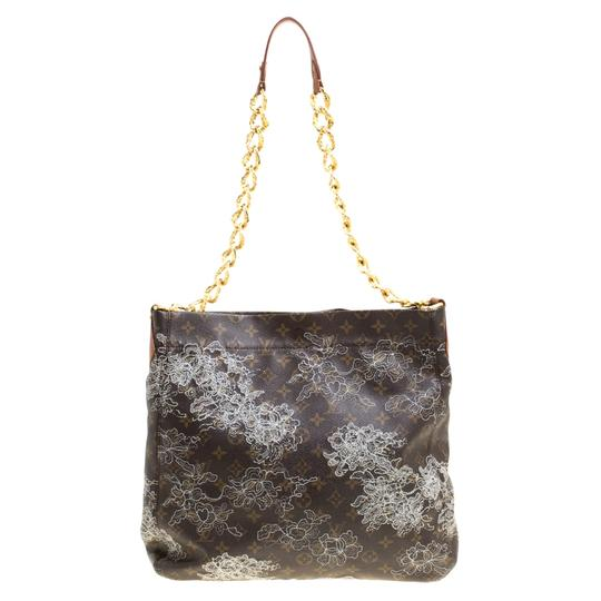 Louis Vuitton Coated Canvas Monogram Limited Edition Hobo Bag Image 1