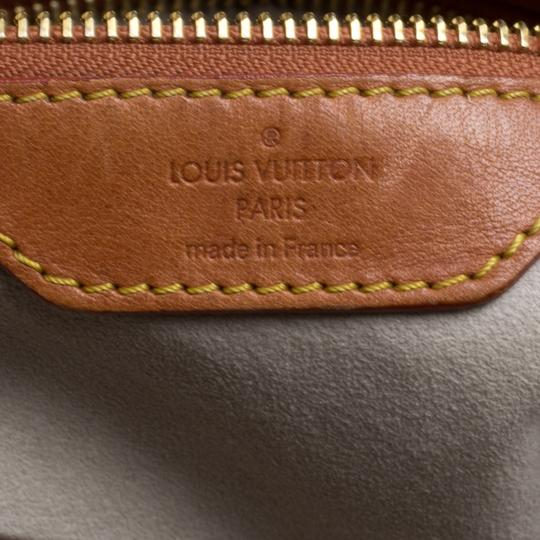 Louis Vuitton Coated Canvas Monogram Limited Edition Hobo Bag Image 8