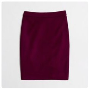 92ba79dad78 Red J.Crew Knee-Length Skirts - Tradesy