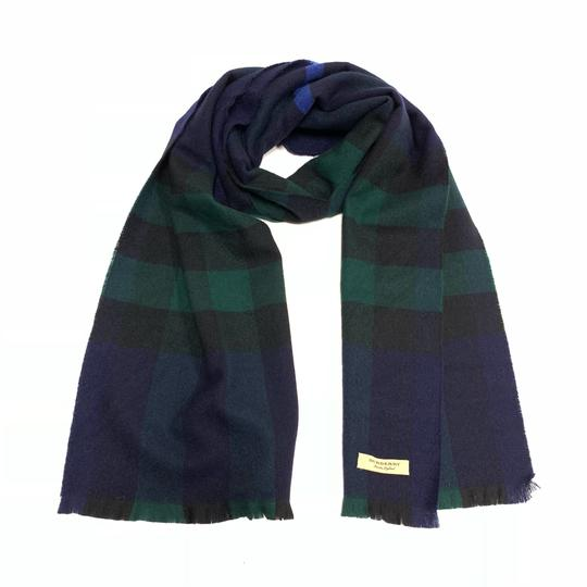 Burberry Burberry Lash Fringe Giant Exploded cashmere check scarf Image 1