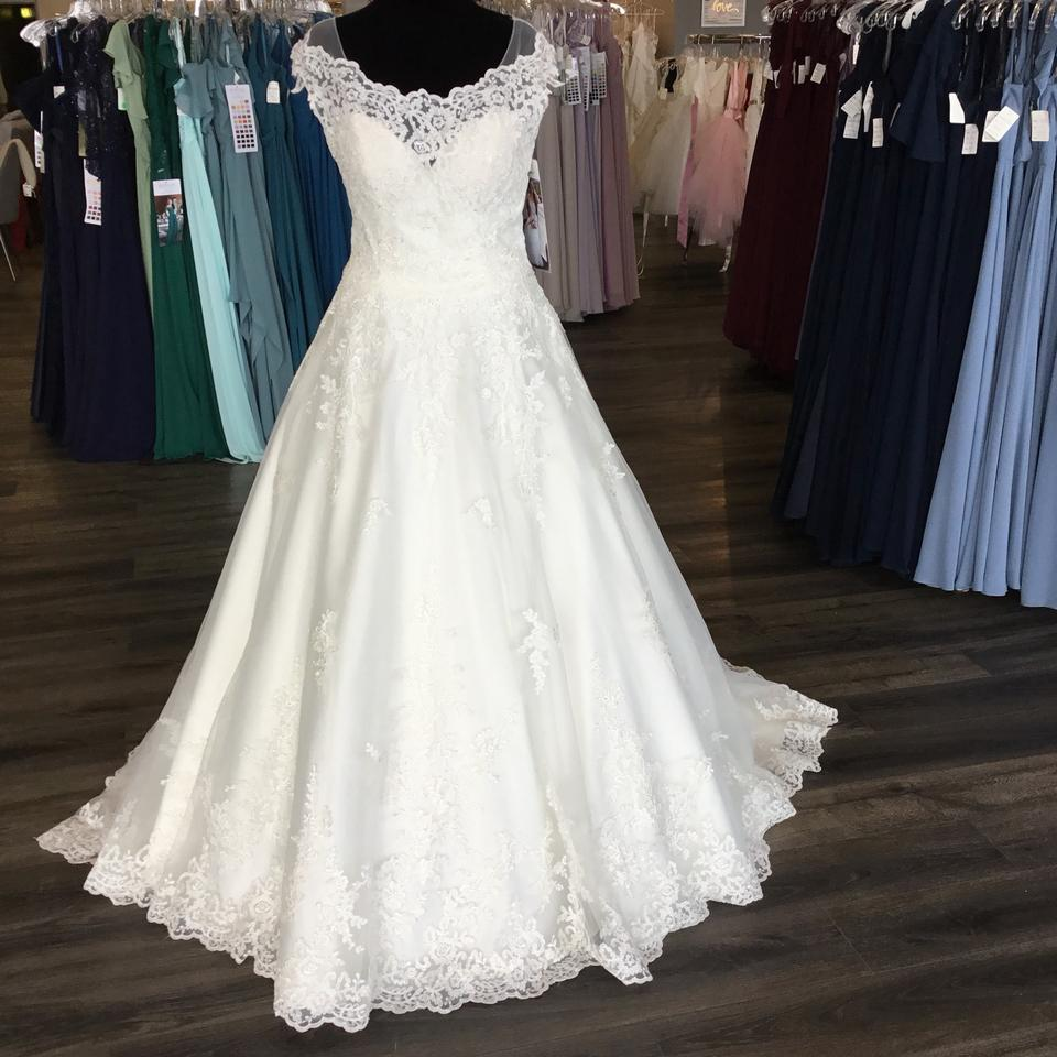 Maggie Sottero Lace Wedding Gown: Maggie Sottero Ivory Lace 7rs982 Kaitlyn Traditional