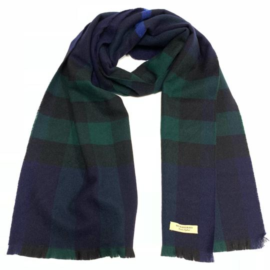 Burberry Burberry Lash Fringe Giant Exploded cashmere check scarf Image 7