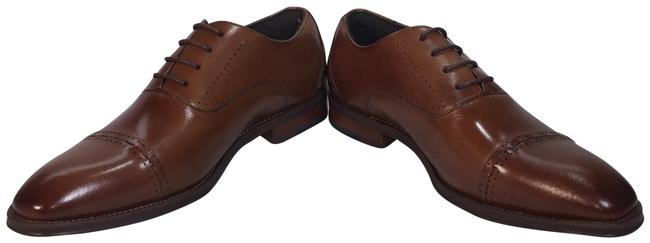 Item - Brown Barris Cap Toe Oxf Men's Flats Size US 7 Regular (M, B)