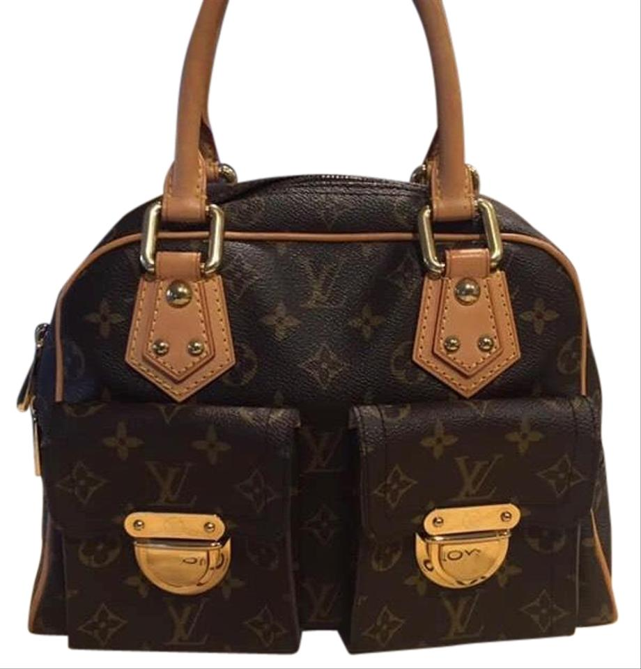 5cee633d1b34 Louis Vuitton Manhattan Pm Monogram Leather Tote - Tradesy