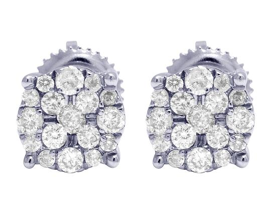 Preload https://img-static.tradesy.com/item/24743289/jewelry-unlimited-white-gold-10k-real-diamond-cluster-stud-050-ct-7mm-earrings-0-0-540-540.jpg