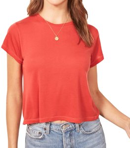 Reformation T Shirt cherry