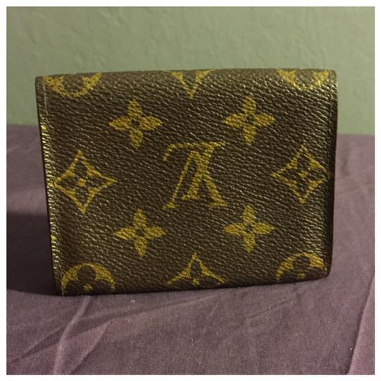 Louis Vuitton Authentic Louis Vuitton Card Case Cartes De Visite Brown Monogram Image 1
