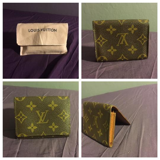 Louis Vuitton Authentic Louis Vuitton Card Case Cartes De Visite Brown Monogram Image 10