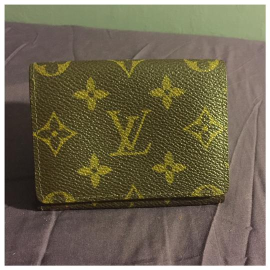 Louis Vuitton Authentic Louis Vuitton Card Case Cartes De Visite Brown Monogram Image 2