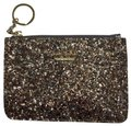 Kate Spade Bitsy Laurel Way Glitter Credit Card Keychain Mini Wallet w/Sequins Image 0