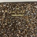 Kate Spade Bitsy Laurel Way Glitter Credit Card Keychain Mini Wallet w/Sequins Image 2