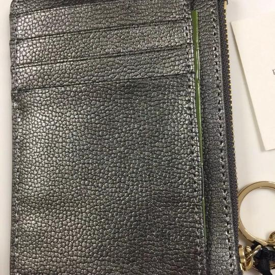 Kate Spade Bitsy Laurel Way Glitter Credit Card Keychain Mini Wallet w/Sequins Image 5